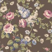 Callaway Cottage CT0843 Monogram Rose Wallpaper