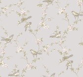 Callaway Cottage CT0868 Floral Branches W/Birds Wallpaper