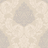 Callaway Cottage CT0888 Silky Damask Wallpaper