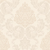 Callaway Cottage CT0891 Silky Damask Wallpaper