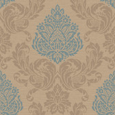 Callaway Cottage CT0892 Silky Damask Wallpaper