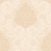 Callaway Cottage CT0893 Silky Damask Wallpaper
