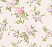 Callaway Cottage CT0904 Hydrangia Sidewall Wallpaper