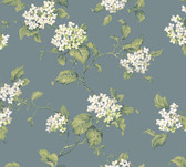 Callaway Cottage CT0908 Hydrangia Sidewall Wallpaper