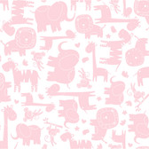 ROOM TO GROW BS5348 BABY SAFARI WALLPAPER