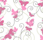 ROOM TO GROW BS5395 BUTTERFLY WALLPAPER