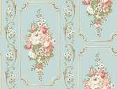 Casabella II BA4500 Floral Panel Wallpaper