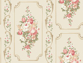 Casabella II BA4501 Floral Panel Wallpaper