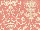 Casabella II BA4597 Neoclassic Shells Wallpaper