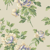 Casabella II BA4611 Document Floral Wallpaper