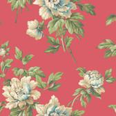 Casabella II BA4613 Document Floral Wallpaper