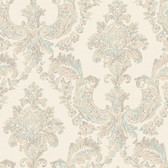 Arlington EL3941 Gilded Damask Wallpaper