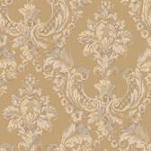 Arlington EL3945 Gilded Damask Wallpaper