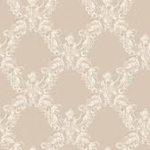 Arlington EL3948 2 Color Trellis Wallpaper