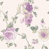 Arlington EL3981 Lg Rose Vine Wallpaper