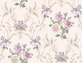 Arlington EL3989 Floral Scrolling Wallpaper