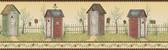 Border Portfolio II BG1620BD Country Outhouse Border