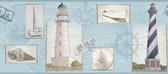 Border Portfolio II BG1660BD Seacoast Lighthouse Border