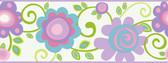 Border Portfolio II PW3953B Floral Scroll Border