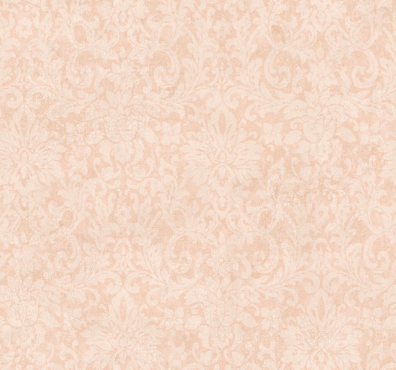 Handpainted Iii Hp0344 Iii Iii Iiieiii Floral Damask Wallpaper