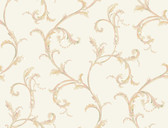 HYDE PARK PL4610 FLORAL SCROLL COMPANION WALLPAPER