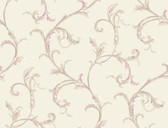 HYDE PARK PL4611 FLORAL SCROLL COMPANION WALLPAPER