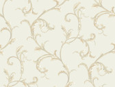 HYDE PARK PL4612 FLORAL SCROLL COMPANION WALLPAPER
