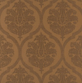 Weathered Finishes PA130602 Leather Damask Wallpaper
