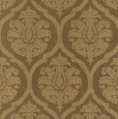 Weathered Finishes PA130610 Leather Damask Wallpaper