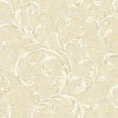 Vintage Patina RE9103 Two Color Scroll Wallpaper
