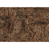 CX1201 - Candice Olson Dimensional Surfaces Cork on Metallic Wallpaper - Brown/Gloss Black