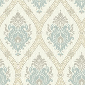 Global Chic GC8733 DRESSED UP DAMASK Wallpaper