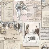 Norwall FK26955 Le Menu menus in antique style, belle epoch