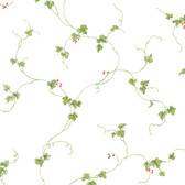 Norwall FK34438 Berry Fine small ivy vine with berries in red