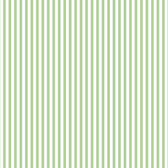 Norwall FK34409 Bands green and white fine stripe
