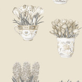 Norwall FK34422 Arrangements floral arrangements in vases on cream background