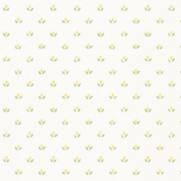 Norwall Fk26950 Tulips Mini Print Of Small Simple Flowers