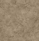 Chesapeake BYR10175 Paleo Brown Faux Fossil Texture Wallpaper