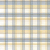 Chesapeake BYR21536 Sunny Blue Tartan Wallpaper
