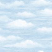 Chesapeake BYR47602 Fluff Haze Puffy Clouds Wallpaper