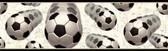 Chesapeake BYR94253B Beckham Black Soccer Motion Portrait Border