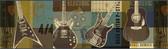 Chesapeake BYR94282B Halen Moss Guitar Collage Portrait Border