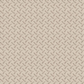 Chesapeake BYR95652 Gridlock Grey Faux Diamond Plate Wallpaper