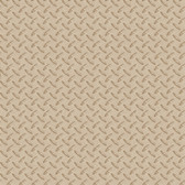 Chesapeake BYR95653 Gridlock Brown Faux Diamond Plate Wallpaper
