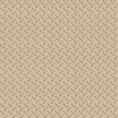 Chesapeake BYR95653 Gridlock Brown Faux Diamond Plate Wallpaper