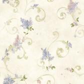 Chesapeake FFR21601 Neutrals Lilac Acanthus