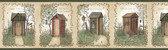 Chesapeake FFR50321B Neutral Outhouses Border