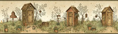 Chesapeake FFR65022B Neutral Garden Outhouses Border
