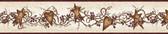 Chesapeake FFR65171B Neutral Tin Hearts &  Stars Border