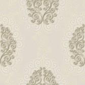Harmony Dove Geo Medallion Wallpaper HMY57511